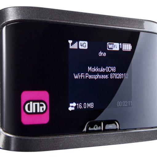 DNA Mokkula 4G LTE WLAN S (Sierra Wireless Aircard 762S) Elisan sim-kortilla