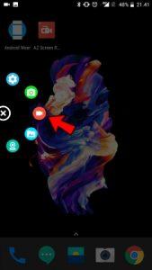 Näytön nauhoitus Android-puhelimella