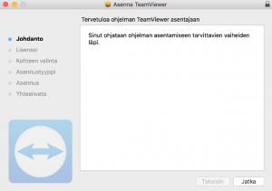 Tietokoneen käyttäminen puhelimella TeamViewerillä