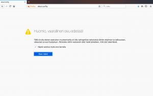 Firefox ilmoitusten estäminen