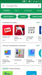 Google Play Kauppa