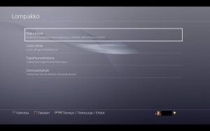 Playstation 4 maksutavat