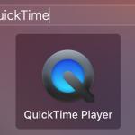 Näytön nauhoittaminen QuickTime Player