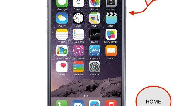 Kuvakaappaus iPhonella