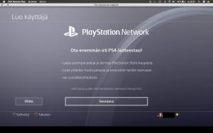 Playstation kahden tilin luonti, synkronointi