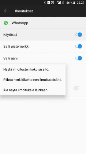 Android Mainokset Lukitusnäytöllä