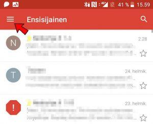 Toisen Gmail-tilin lisääminen