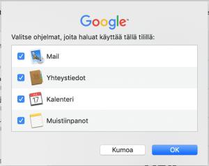 Sähköposti Mac