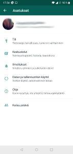 WhatsApp ilmoitusäänen vaihtaminen